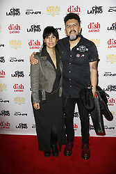 LOS ANGELES, CA - JUNE 7 Sergio Arau and Yareli Arizmendi  attend the 9th Annual Hola Mexico Film Festival Opening Night at the Regal LA LIVE in downtown Los Angeles, on June 7, 2017 in Los Angeles, California. Byline, credit, TV usage, web usage or linkback must read SILVEXPHOTO.COM. Failure to byline correctly will incur double the agreed fee. Tel: +1 714 504 6870.