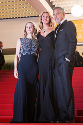 May 13, 2016 - Cannes, France - Jodie Foster, Julia Roberts, George Clooney - CANNES 2016 - DESCENTE DES MARCHES DU FILM 'MONEY MONSTER (Credit Image: © Visual via ZUMA Press)