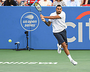 Nick Kyrgios at the 2021 Citi Open. Photo by Kyle Gustafson