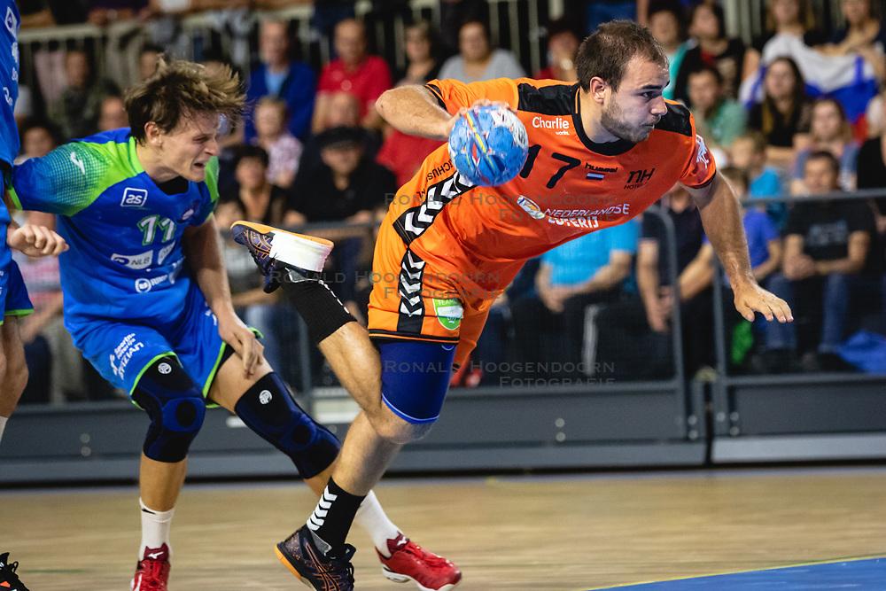 25-10-2019 SLO: Slovenia - Netherlands, Ormoz<br /> Ivo Steins of Nederland during friendly handball match between Slovenia and Nederland, on October 25, 2019 in Sportna dvorana Hardek, Ormoz, Slovenia.