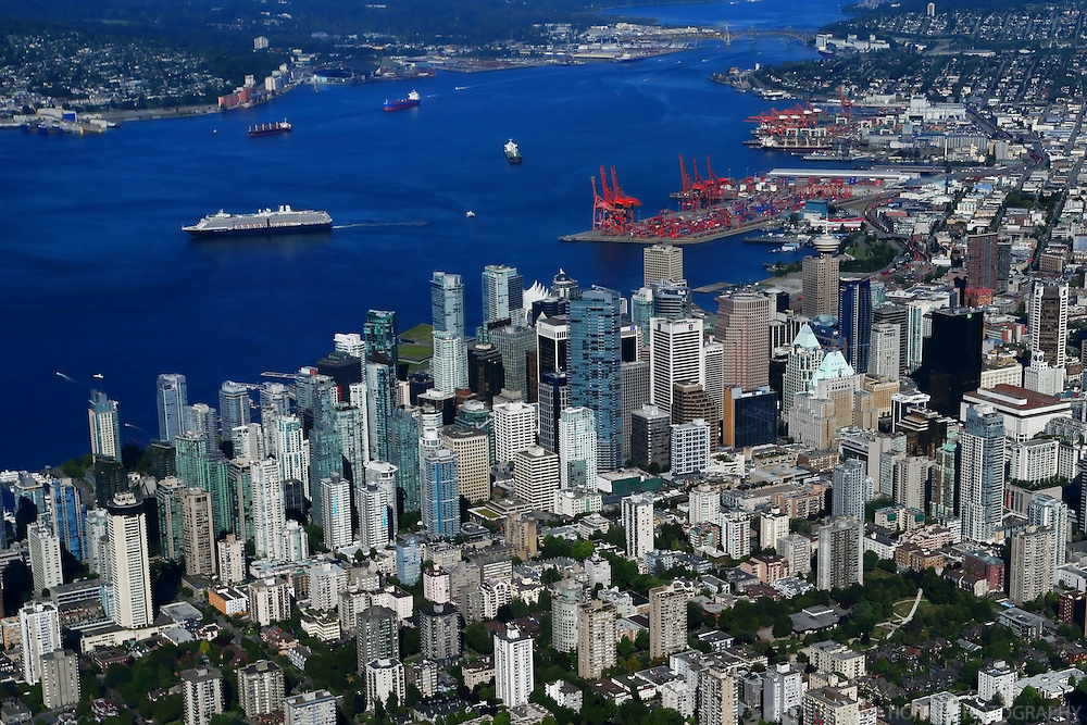 Downtown Vancouver & Burrard Inlet