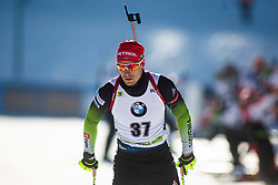 Rok Trsan (SLO) during the Men 20 km Individual Competition at day 1 of IBU Biathlon World Cup 2019/20 Pokljuka, on January 23, 2020 in Rudno polje, Pokljuka, Pokljuka, Slovenia. Photo by Peter Podobnik / Sportida