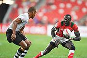 Emonyi Collins Injera (KEN) APRIL 17, 2016 - Rugby : HSBC Sevens World Series, Singapore Sevens match Kenya and Fiji (Cup Finals) at National Stadium in Singapore. (Photo by Haruhiko Otsuka/AFLO)
