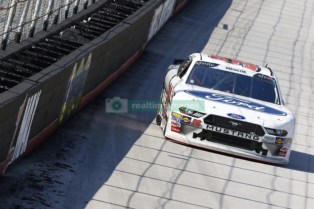 April 13, 2018 - Bristol, Tennessee, United States of America - April 13, 2018 - Bristol, Tennessee, USA: Chase Briscoe (98) brings his car down the backstretch during final practice for the Fitzgerald Glider Kits 300 at Bristol Motor Speedway in Bristol, Tennessee. (Credit Image: © Chris Owens Asp Inc/ASP via ZUMA Wire)