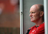 Photo: Rich Eaton.<br /> <br /> Barnsley v Cardiff City. Coca Cola Championship.<br /> <br /> 05/08/2006. Andy Ritchie has plenty to ponder as his team Barnsley lose 2-1 at home to Cardiff in the first game of the season