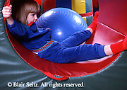 Medical , Occupational Therapy for Children, Therapy Apparatus, Therapist, Girl in Rolling Tube