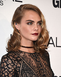 November 14, 2016 - Hollywood, California, U.S. - Cara Delevingne arrives for the Glamour Women of the Year Awards 2016 at the Neuehouse Hollywood. (Credit Image: © Lisa O'Connor via ZUMA Wire)
