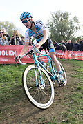 Belgium, November 1 2017:  Toon Aerts (Telenet-Fidea Lions) finished in second place in the 2017 edition of the Koppenbergcross. Copyright 2017 Peter Horrell.