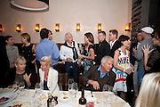 ABY ROSEN; CALVIN KLEIN; NICHOLAS GRUBER; LARRY GAGOSIAN; LISA PERRY, ;Aby Rosen & Samantha Boardman Dinner at Solea,Collins ave,  Miami Beach. 2 December 2010. -DO NOT ARCHIVE-© Copyright Photograph by Dafydd Jones. 248 Clapham Rd. London SW9 0PZ. Tel 0207 820 0771. www.dafjones.com.