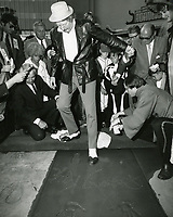 1969 Danny Kaye's hand/footprint ceremony at Grauman's Chinese Theater