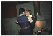 Ghislaine Maxwell, Michael Bloomberg, Costume Institute, Metropolitan Museum. 6 December 2003. © Copyright Photograph by Dafydd Jones 66 Stockwell Park Rd. London SW9 0DA Tel 020 7733 0108 www.dafjones.com