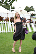 Alice Eve, Cartier International Polo. Guards Polo Club. Windsor Great Park. 29 July 2007.  -DO NOT ARCHIVE-© Copyright Photograph by Dafydd Jones. 248 Clapham Rd. London SW9 0PZ. Tel 0207 820 0771. www.dafjones.com.