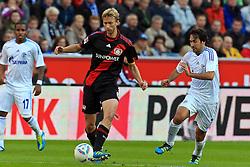 23.10.2011,  BayArena, Leverkusen, GER, 1.FBL, Bayer 04 Leverkusen vs Schalke 04, im Bild.Simon Rolfes (Leverkusen #6) gegen Raul (Schalke #7)..// during the 1.FBL, Bayer Leverkusen vs Schalke 04 on 2011/10/23, BayArena, Leverkusen, Germany. EXPA Pictures © 2011, PhotoCredit: EXPA/ nph/  Mueller       ****** out of GER / CRO  / BEL ******