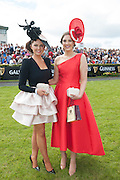 30/07/2015 Repro free  Jennifer Wrynne Milliner and  Cork native, Alex Butler  from Ballyedmond, Midleton, Co .Cork has scooped the coveted title of Kilkenny Best Dressed Lady at the 2015 Galway Races Ladies Day, this year sponsored by the Kilkenny Group. photo:Andrew Downes