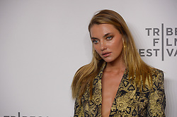 Alina Baikova attending the premiere of the movie American Meme during the 2018 Tribeca Film Festival at Spring Studios in New York City, NY, USA on April 27, 2018. Photo by Julien Reynaud/APS-Medias/ABACAPRESS.COM