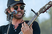 Shakey Graves, Alejandro Rose-Garcia, at Nelsonville Music Festival 2014 concert photography by Akron music photographer Mara Robinson Photography