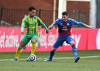 Football - 2020 /2021 Premier League - Crystal Palace vs West Bromwich Albion - Selhurst Park<br /> <br /> Matheus Pereira of West Bromwich Albion and Joel Ward of Crystal Palace