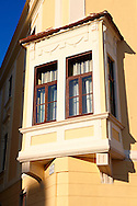 Bay Window - ( Gy?r )  Gyor Hungary .<br /> <br /> Visit our HUNGARY HISTORIC PLACES PHOTO COLLECTIONS for more photos to download or buy as wall art prints https://funkystock.photoshelter.com/gallery-collection/Pictures-Images-of-Hungary-Photos-of-Hungarian-Historic-Landmark-Sites/C0000Te8AnPgxjRg