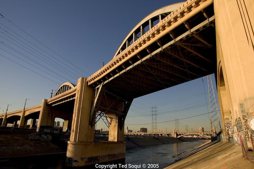 6th St. bridge over the LA River. Built in 1932.