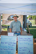 Keith Huettig of Homestead Natural Foods at the Twin Falls Farmers Market