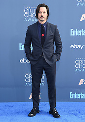 Celebrities arrive on the red carpet for the 22nd Annual Critics' Choice Awards held at Barker Hanger in Santa Monica. 11 Dec 2016 Pictured: Milo Ventimiglia. Photo credit: American Foto Features / MEGA TheMegaAgency.com +1 888 505 6342