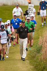 March 24, 2018 - Austin, TX, U.S. - AUSTIN, TX - MARCH 24: Matt Kuchar walks to the fairway during the Round of 16 for the WGC-Dell Technologies Match Play on March 24, 2018 at Austin Country Club in Austin, TX. (Photo by Daniel Dunn/Icon Sportswire) (Credit Image: © Daniel Dunn/Icon SMI via ZUMA Press)