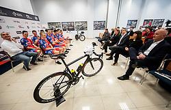 Press conference of Continental Cycling team KK Adria Mobil before new season 2020, on February 17, 2020 in Cesca vas, Novo mesto, Slovenia. Photo by Vid Ponikvar / Sportida