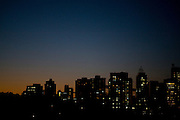 Belo Horizonte _ MG, Brasil..Imagem noturna de Belo Horizonte no bairro Lourdes, Minas Gerais...The night image in Belo Horizonte in the Lourdes neighborhood, Minas Gerais...Foto: JOAO MARCOS ROSA / NITRO