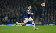 Leighton Baines of Everton during the English Premier League match at Goodison Park, Liverpool. Picture date: December 19th, 2016. Photo credit should read: Lynne Cameron/Sportimage