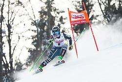 Alice Robinson (NZL) during the Ladies' Giant Slalom at 57th Golden Fox event at Audi FIS Ski World Cup 2020/21, on January 17, 2021 in Podkoren, Kranjska Gora, Slovenia. Photo by Vid Ponikvar / Sportida