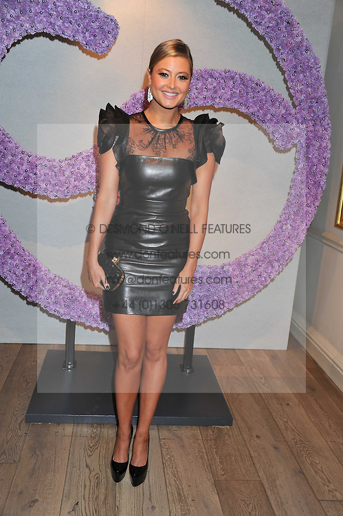 HOLLY VALANCE at a reception to celebrate the publication of Candy and Candy: The Art of Design held at the Halcyon Gallery, 24 Bruton Street, London W1 on 26th October 2011.