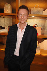TIM MARLOW writer, broadcaster, art historian and Director of Exhibitions at White Cube at a reception to launch the 2007 Louis Vuitton Christmas windows in collaboration with Central Saint Martins College of Art & Design held at 17-18 New Bond Street, London W1 on 7th November 2007.<br /><br />NON EXCLUSIVE - WORLD RIGHTS