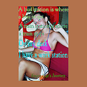 Famous humourous quotes series: A bus station is where a bus stops. A train station is where a train stops. On my desk, I have a work station.