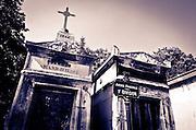Mausoleum at Père Lachaise Cemetery, Paris, France