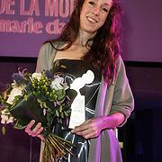 NLD/Amsterdam/20150119 - De Marie Claire Prix de la Mode awards, Iris van Herpen wint de award voor Dutch Conceptional Designer