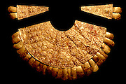PERU, PRECOLUMBIAN, GOL Chimu; gold breastplate (pectoral)