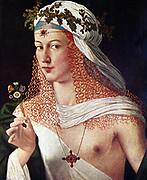 Courtesan or (Portritt of Lucrezia Borgia?) 16. th cent