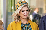 EINDHOVEN, 27-04-2021, High Tech Campus<br /> <br /> Koningin Maxima tijdens Koningsdag 2021 op de High Tech Campus in Eindhoven Foto: Brunopress/POOL/Mischa Schoemaker<br /> <br /> Queen Maxima during King's Day 2021 at Eindhoven