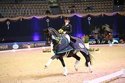 Von Bredow-Werndl Jessica, (GER), Unee BB<br /> Grand Prix Dressage München 2015<br /> © Hippo Foto - Stefan Lafrentz