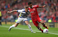 Football - 2016 / 2017 Scottish League Cup - Semi-Final - Greenock Morton vs. Aberdeen<br /> <br /> Gary Oliver of Morton  and Shay Logan of Aberdeen, at Hampden Park.<br /> <br /> COLORSPORT/LYNNE CAMERON