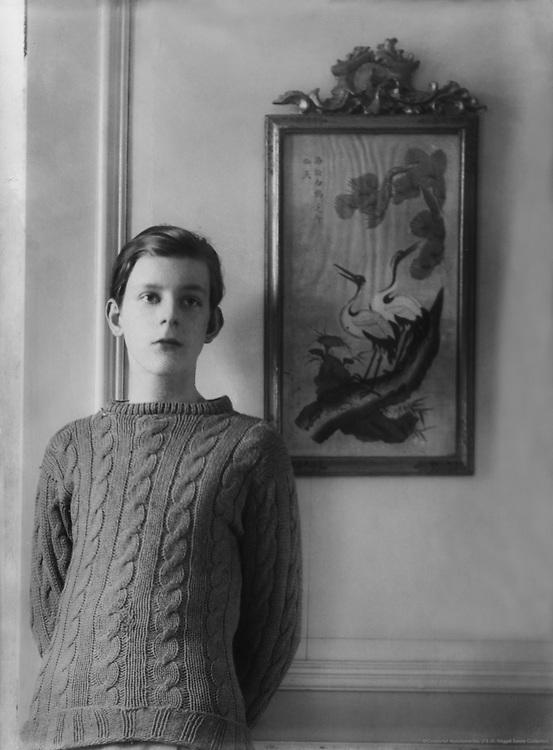 Stephen Tennant, artist and aesthete, 1921