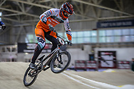 #4 (HARMSEN Joris) NED during practice at the 2019 UCI BMX Supercross World Cup in Manchester, Great Britain
