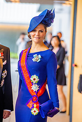 October 22, 2019, JAPAN: 22-10-2019 Inhuldiging Enthronement ceremony of Emperor Naruhito of Japan in Tokyo..Princess Victoria arrives at the Imperial Palace to attend the proclamation ceremony of Japans Emperor in Tokyo, Japan. (Credit Image: © face to face via ZUMA Press)