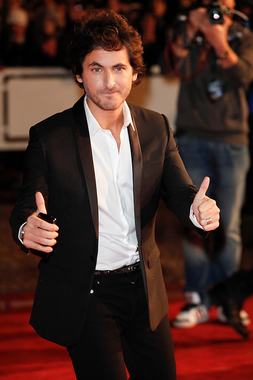 Mickael Miro arrives for the NRJ Music Awards 2012 at Palais des Festivals on January 28, 2012 in Cannes, .Mickael Miro arrive pour la NRJ Music Awards 2012 au Palais des Festivals le Janvier 28 2012 à Cannes,.