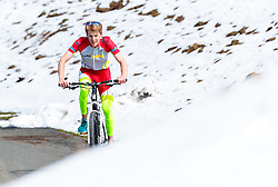 05.05.2016, Kitzbuehler Horn, Kitzbuehel, AUT, OeSV, Skisprung, Lehrgang Mountainbike Tour, im Bild Michael Hayböck (AUT) // Michael Hayboeck of Austria during a mountain bike ride of the Austrian ski jumping Team at the Kistbuehler Horn, Kitzbuehel, Austria on 2016/05/05. EXPA Pictures © 2016, PhotoCredit: EXPA/ JFK