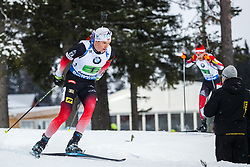 March 16, 2019 - –Stersund, Sweden - 190316 Vetle SjÃ¥stad Christiansen of Norway competes in the Men's 4x7,5 km Relay during the IBU World Championships Biathlon on March 16, 2019 in Östersund..Photo: Johan Axelsson / BILDBYRÃ…N / Cop 245 (Credit Image: © Johan Axelsson/Bildbyran via ZUMA Press)