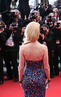 Actress Nicole Kidman faces the photographers at the The Coen brother's new film 'Inside Llewyn Davis' red carpet gala screening at the Cannes Film Festival Sunday 19th May 2013