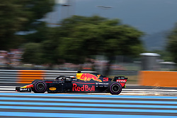 June 23, 2018 - Le Castellet, Var, France - Red Bull Racing 3 Driver DANIEL RICCIARDO (AUS) in action during the Formula one French Grand Prix at the Paul Ricard circuit at Le Castellet - France (Credit Image: © Pierre Stevenin via ZUMA Wire)