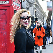Street style - LFW AW19 last day at Strand, London, UK