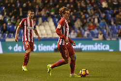 March 2, 2017 - La Coruna, Spain - Griezman. La Liga Santander Matchday 25. Riazor Stadium, La Coruna, Spain. March 02, 2017. (Credit Image: © Monica Arcay Carro/VW Pics via ZUMA Wire/ZUMAPRESS.com)
